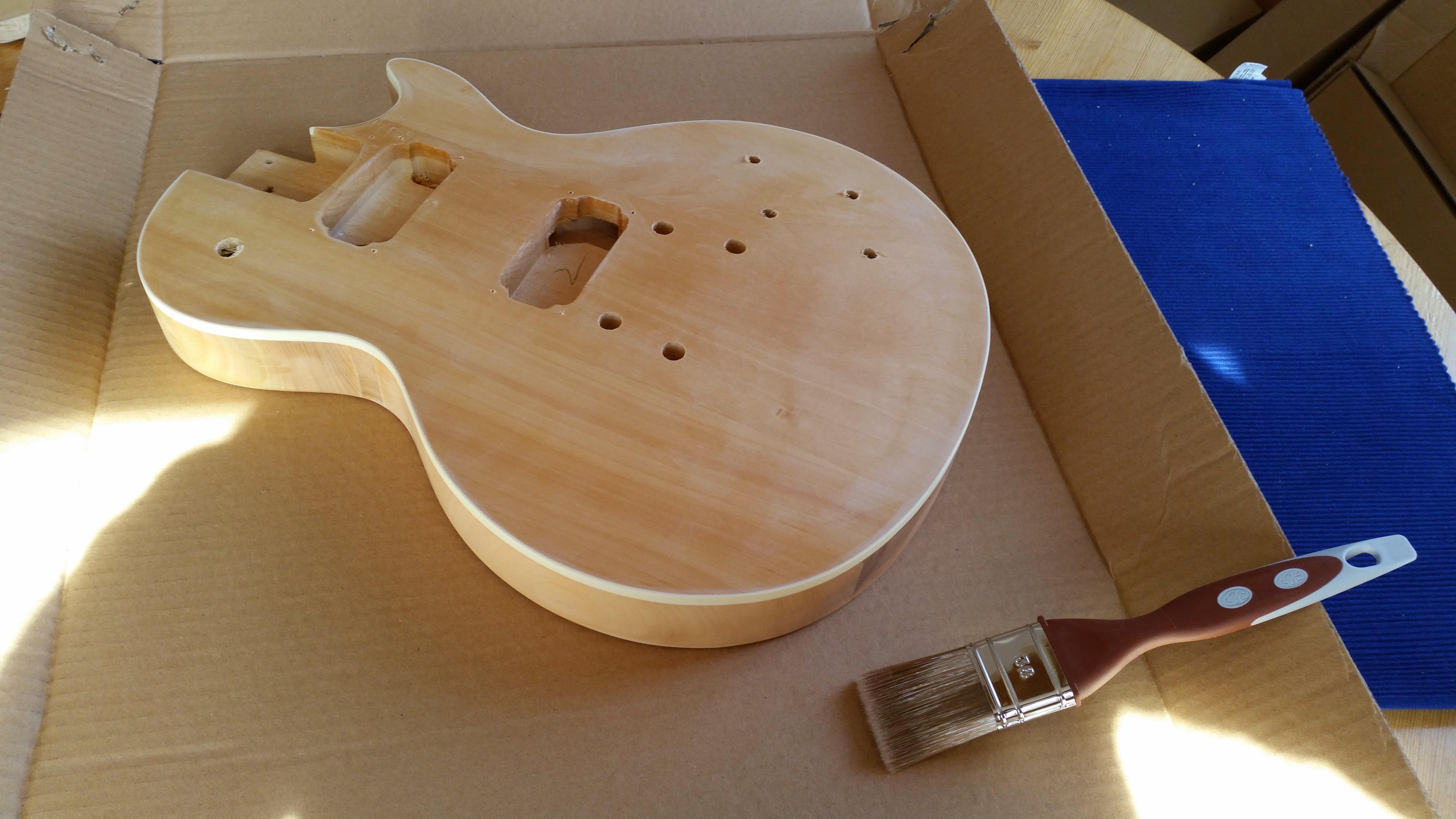 Harley Benton Les Paul Guitar Kit Niederberger Musik