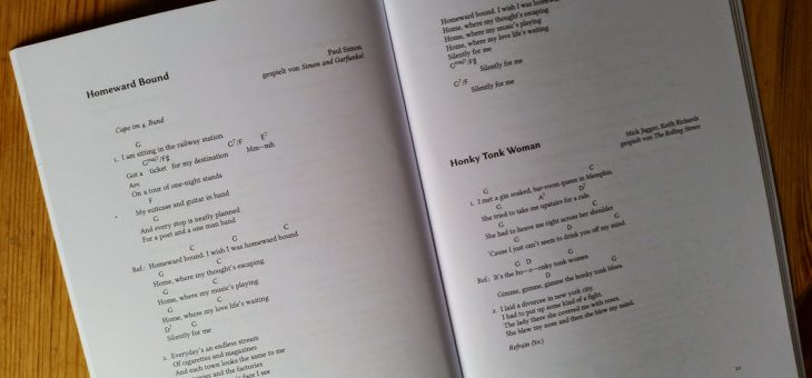 Typesetting songbooks and leadsheets