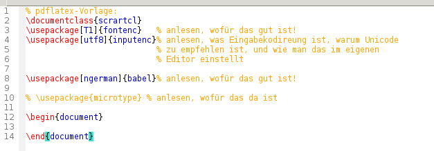 LaTeX-Vorlagen