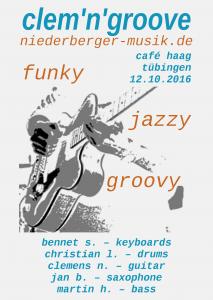 funky – jazzy – groovy
